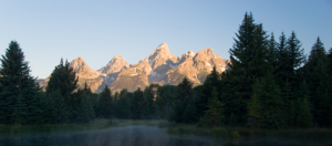 Teton Mountains, Jackson Hole Wyoming