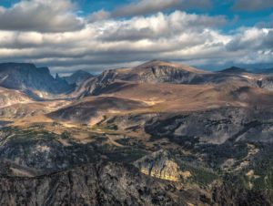 Beartooth Mountains, NW Wyoming.  Photograph captured by Mike Adler during the recent GJH Sunlight Basin-Beartooth field trip.