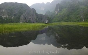 Karst topography near Trang An, Vietnam, the birthplace of nuance.  Image captured by GJH friend Dan Hesse